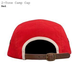 c6243eda80e Supreme Accessories - NWT l SUPREME • 2-Tone Camp Cap in Red